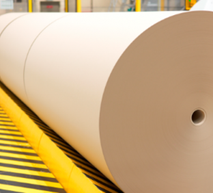 Cardboard tubes for paper mills