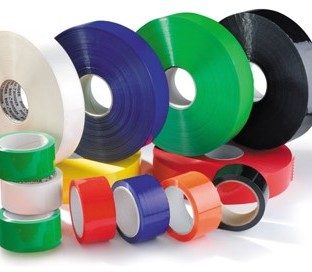 Cardboard tubes and rings for labels and adhesives