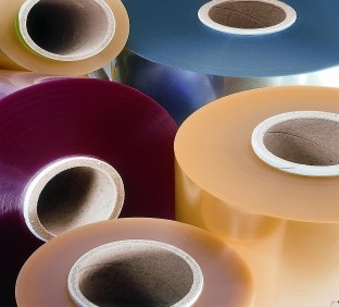 Cardboard tubes for plastic film